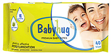Babyhug Premium Baby Wipes - 40 Pieces