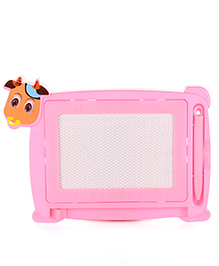 Writing Board With Pen Animal Shape - Pink
