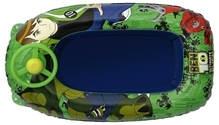Ben 10 -  Inflatable Boat With Steering Wheel