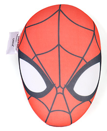 Marvel Spiderman Face Shape Cushion - Coral