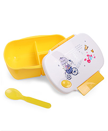 Fab N Funky Baby Lunch Box - Yellow
