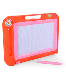 Writing Board With Pen & Handle - Orange