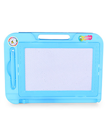 Writing Board With Pen & Handle - Blue