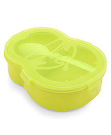 Lunch Box With Spoon - Green