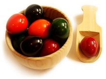 Aatike - Wooden Cup And  Eggs