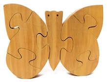 Aatike - Wooden Puzzle Butterfly Toy