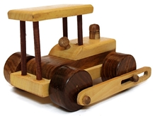 Aatike  - Road Engine Moving Wooden Toy