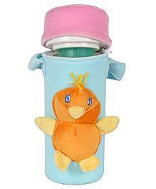 Ole Baby Bottle Thermal Warmer Bag With 3D Pop Out Soft Toy Blue - Fits Upto 250 Ml