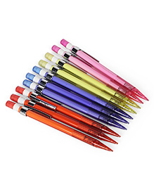 Camlin Klick 0.5 Mm Mechanical Pencil Set Of 10 - Multicolor