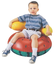 Toyzone -  PVC Chair  Fruit Shape