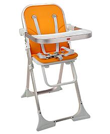 LuvLap Comfy High Chair - Orange