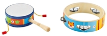 Sevi - Wooden Mini Music Set