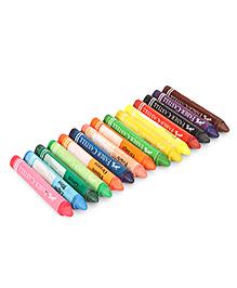 Faber Castell Triangular Jumbo Wax Crayons - Pack Of 15