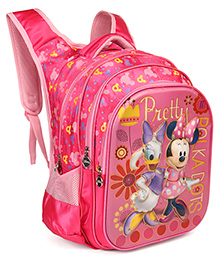 Disney School Bag Minnie Mouse Design Pink - 18 Inches