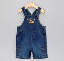 Beebay - Comfortable Short Denim Dungaree