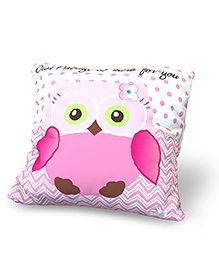 Baby Oodles Cushion With Inner Filler Own Print - Pink