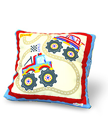 Baby Oodles Cushion With Inner Filler ATV Print - Multi Color