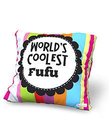 Baby Oodles Cushion With Inner Filler Coolest Fufu Print - Multi Color