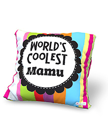 Baby Oodles Cushion With Inner Filler Coolest Mamu Print - Multi Color