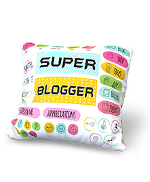 Baby Oodles Cushion With Inner Filler Super Blogger Print - Multi Color