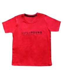 Super Young - Short Sleeves Crew T-Shirt