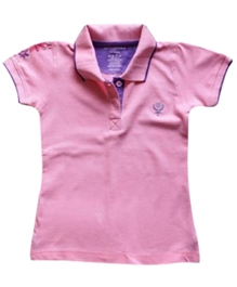 Super Young - Polo T-Shirt With Machine Embroidery