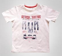 Super Young - Half Sleeves Printed T-shirt