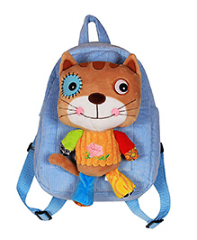 Ole Baby Detachable Soft Toy Bag Blue - 9.8 Inches