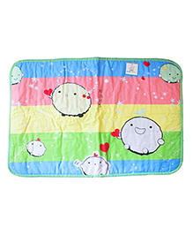 Ole Baby Waterproof Cushioned Sleeping & Changing Mat Printed - Multi Color