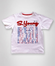Super Young - Half Sleeves T-Shirt