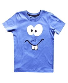 Super Young - Funny Face Print T-Shirt