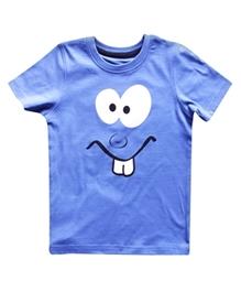 Super Young - Funny Face Print T-Shirt