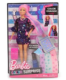 Barbie Colour Changer Hair Doll Multi Colour - 29 Cm