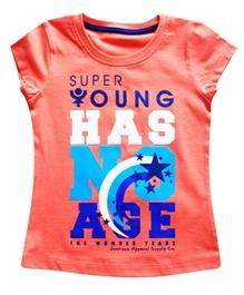 Super Young - Message Print T Shirt