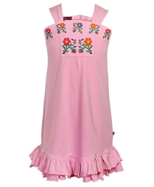 Quarter Spoon - Floral Printed Hungarian Dress