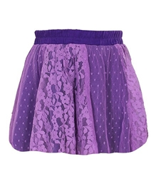 Quarter Spoon - Lace Full Flared Skirt