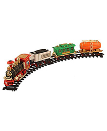 Toyshine Battery Operated Train Set - Multicolour