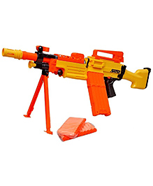 Toyshine Sniper Soft Bullet Toy Gun With Darts - Orange