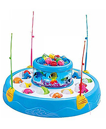 Toyshine Magnetic Fish Catching Game Big - Multicolor