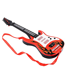 Toyshine Guitar Toy With Music & Light - Red