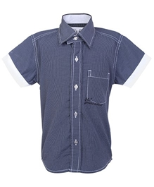 Gini & Jony - Small Checks Print Shirt