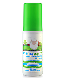 Mamaearth Nourishing Hair Oil For Babies - 100 Ml