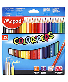 Maped Color'Peps Colouring Pencil Multi Colour - Pack Of 24