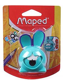 Maped Croc Croc Bunny Shape Sharpener - Teal Blue