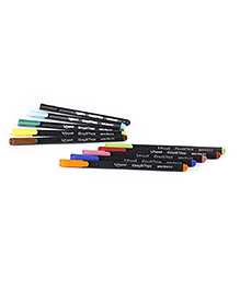 Maped Graph Peps Fineliners Pack Of 10 Assorted Colours