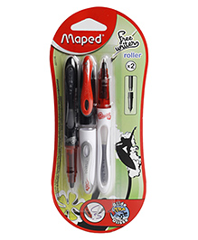 Maped Freewriter Roller Pen Blue Ink - Pack Of 2
