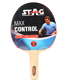 Stag Table Tennis Racket Max Control - Red