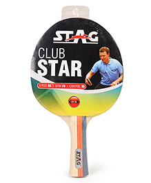 Stag Table Tennis Racket Club Star - Cream