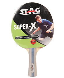 Stag Table Tennis Racket Super X - Cream