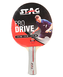 Stag Table Tennis Racket Challenger - Off White